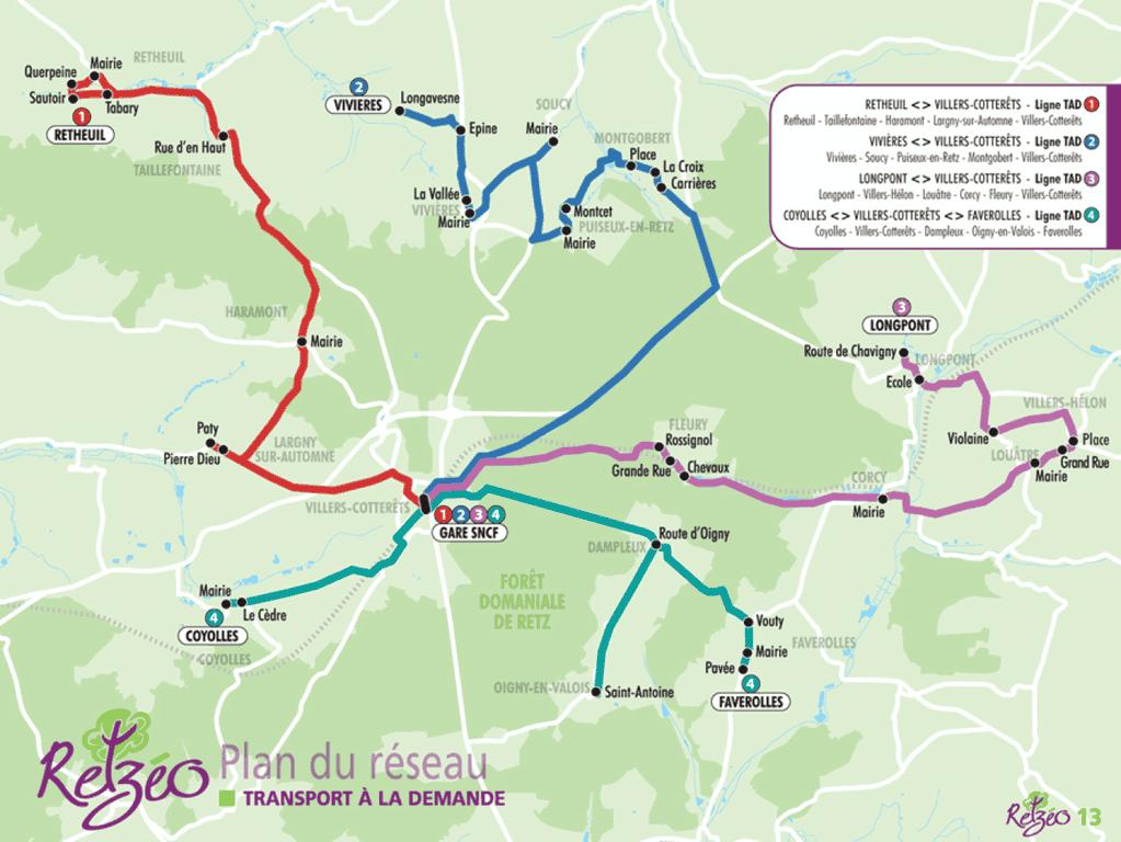 Image du plan du réseau