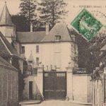 Carte postale - Entrée du château